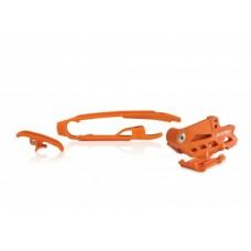 Комплект ловушка+слайдер ACERBIS  SX, SXF 16-19 помаранчевий