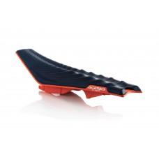 Сидіння ACERBIS X-SEAT KTM SX-SXF 16-18 SOFT оранжевий-синій