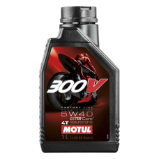 Масло MOTUL 300V FACTORY LINE ROAD RACING 5W40 1L