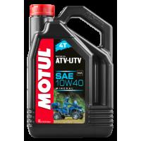Масло MOTUL ATV-UTV 4T 10W40 4L
