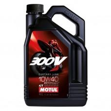 Моторне масло MOTUL 300V 4T 10W40 4L