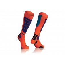 Носки ACERBIS MX IMPACT помаранчевий-синій