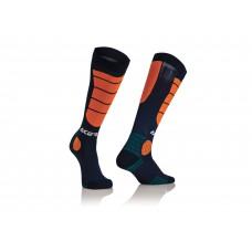 Носки ACERBIS MX IMPACT синій/оранжевий