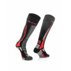 Носки ACERBIS MX PRO чорний-червоний